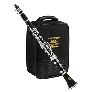 Eastar B Flat Clarinet Wind Band ECL-400 Commander Ebonite Silver Keys. Made for Wind Band! Rest assured with 12 Month Product Warranty.