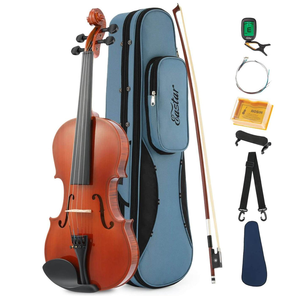 Eastar EVA-1: 1/4-Size Natural Violin with Hard Case & Accessories. A great violin to buy online.