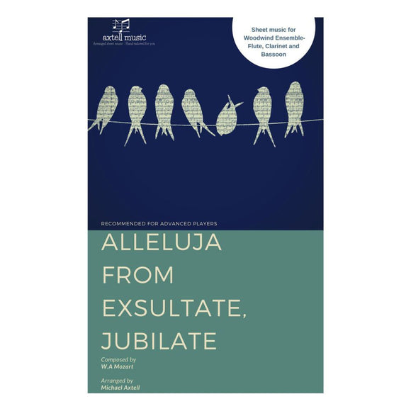 Alleluja From Exsultate Jubilate - Sheet Music