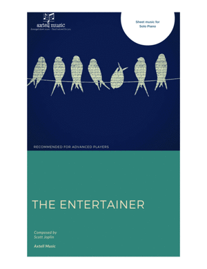 The Entertainer- Piano Sheet Music