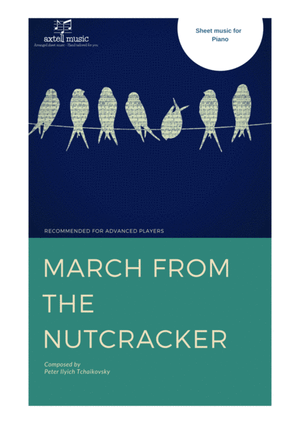 march-of-the-nutcracker-digital-sheet-music cover
