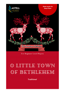 O Little town of Bethlehem (St. Louis)- Christmas Piano Sheet Music