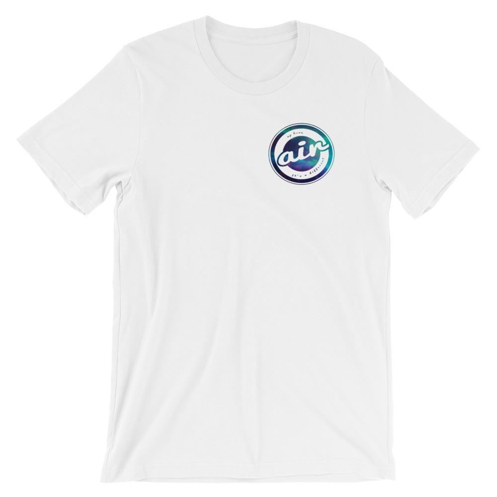 Different Air Up Here - White Motivational T-shirt