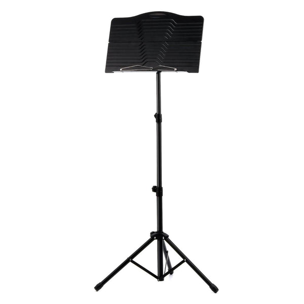 Donner Sheet Music Stand DMS-1: Folding Travel Metal Music Stand With Carrying Bag