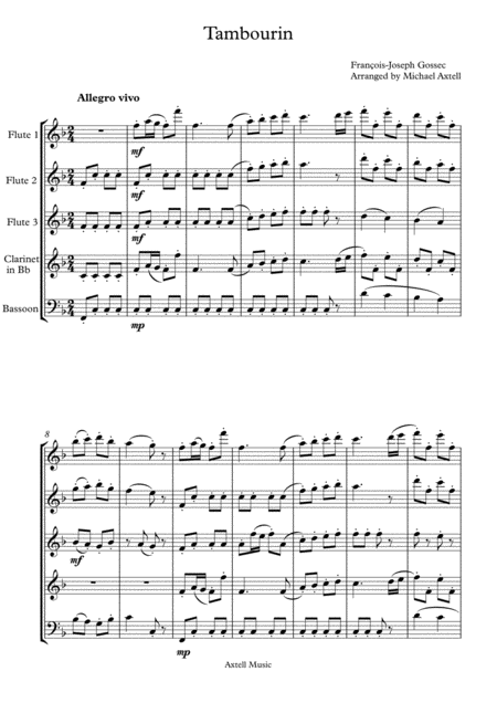 tambourin-woodwind-quintet-digital-sheet-music