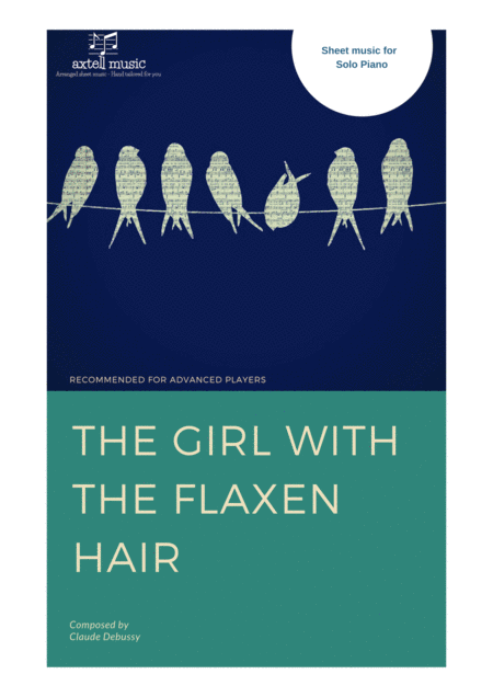 The Girl With The Flaxen Hair digital piano sheet music. Instant download available.
