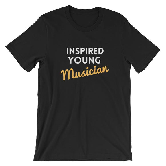 Inspired Young Musician - Black / S - Apparel