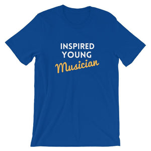 Inspired Young Musician - True Royal / S - Apparel