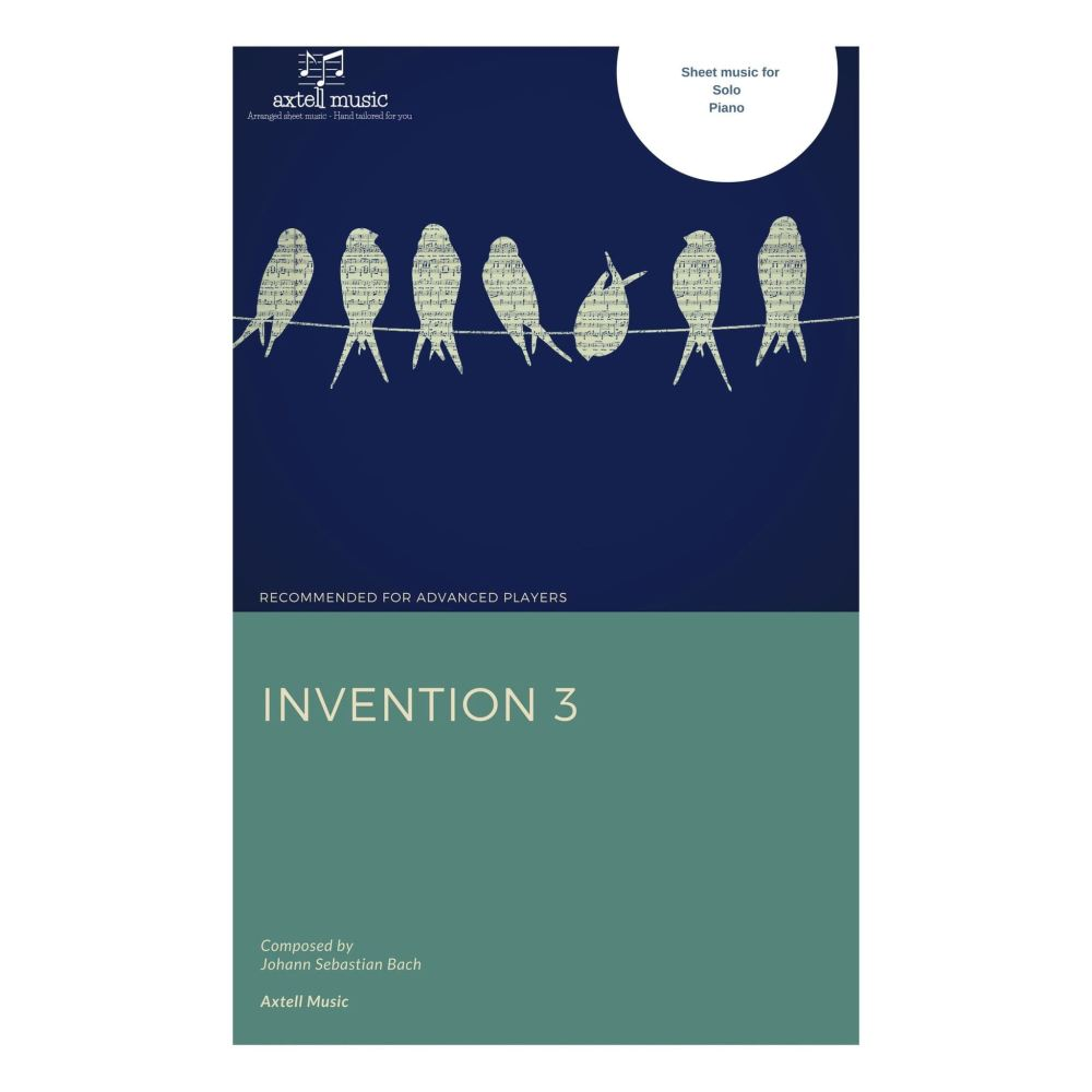 Invention 3 - Sheet Music