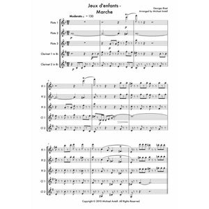 Jeux Denfants: Marche - Sheet Music