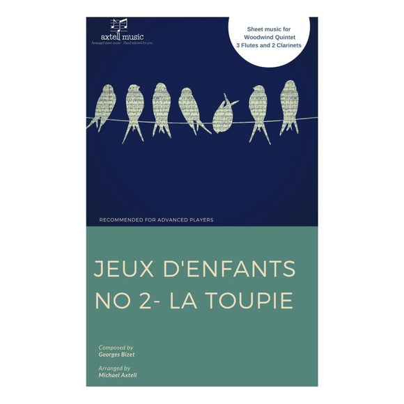 Jeux Denfants No 2: La Toupie - Sheet Music