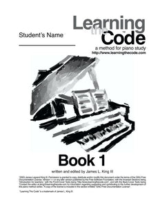 FREE E-BOOK Learn The Code - A Method For Piano Study