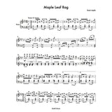 Maple Leaf Rag -Piano Sheet Music