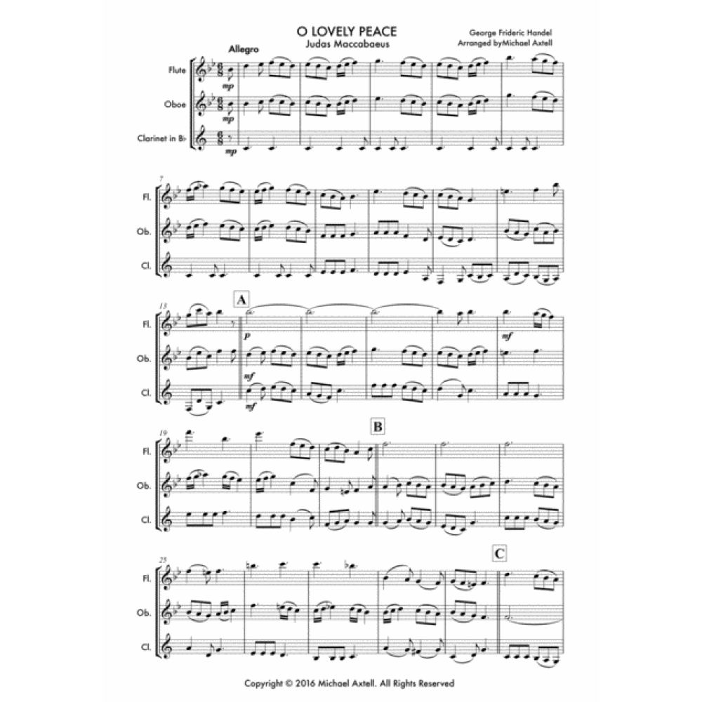 O Lovely Peace - Sheet Music