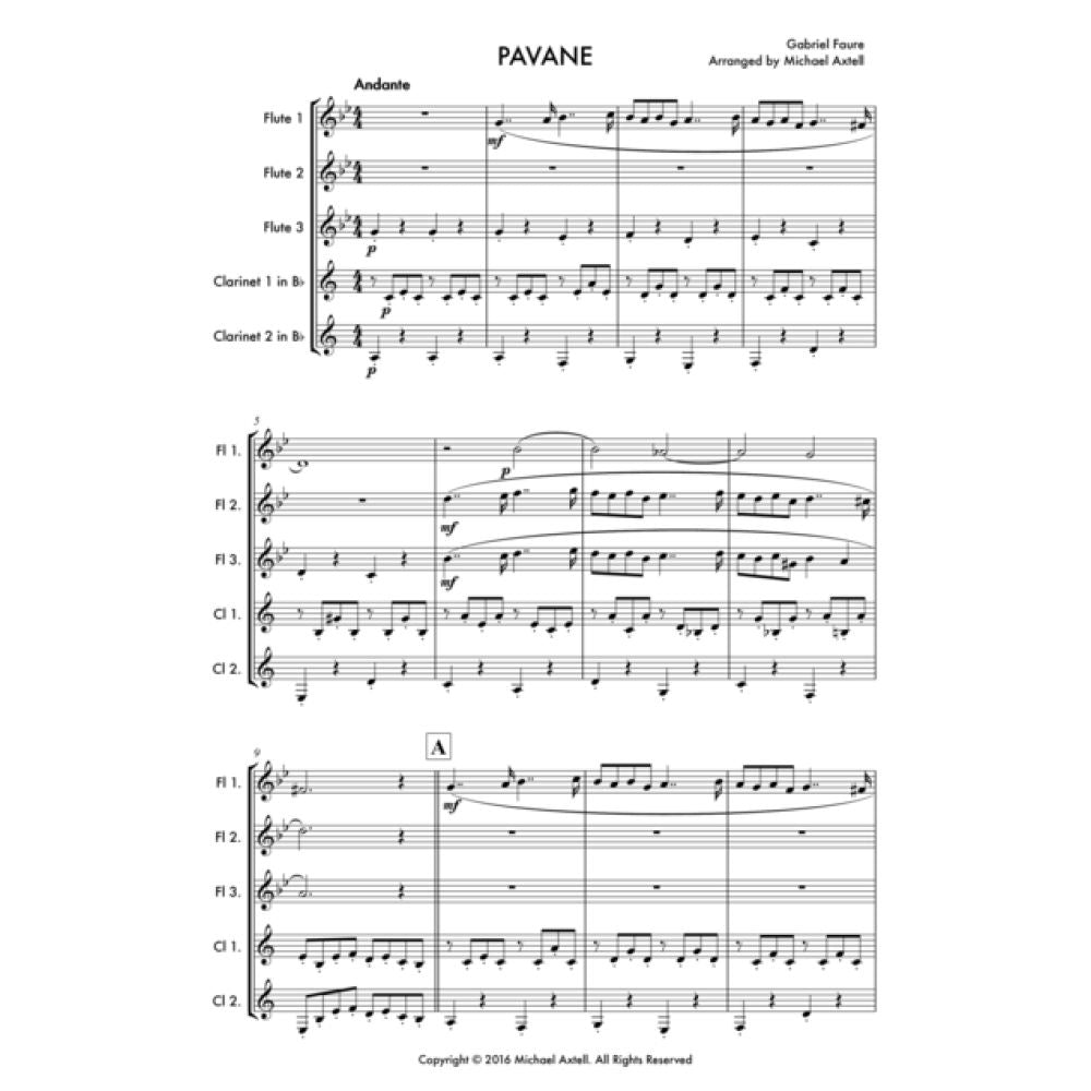 Pavane - Sheet Music