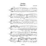 Sonatine Opus 34. I -Piano Sheet Music