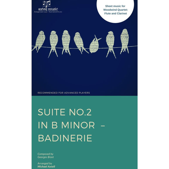 Suite No.2 In B Minor Badinerie - Sheet Music
