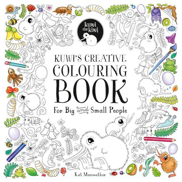 Kuwis Creative Colouring Book