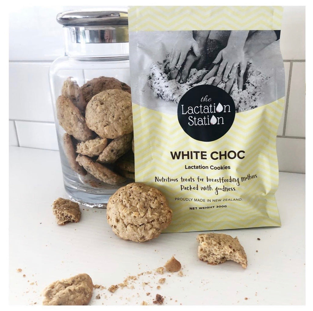 The Lactation Station Cookies (white choc)