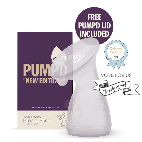 PUMPD Silicone Breast Pump