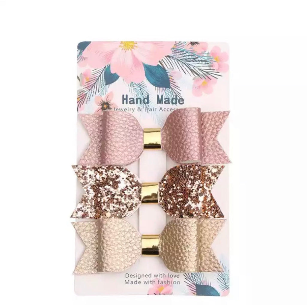 Khloe Bows Clips