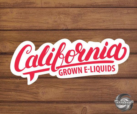 California Grown E-Liquid