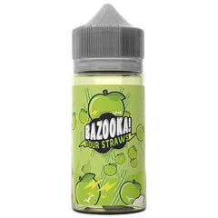 Bazooka Green Apple Sour Straws 100ml