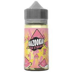 Bazooka Sour Straws Watermelon 100ml