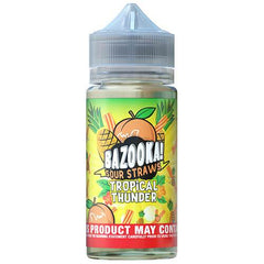 bazooka tropic thunder pineapple peach 100ml