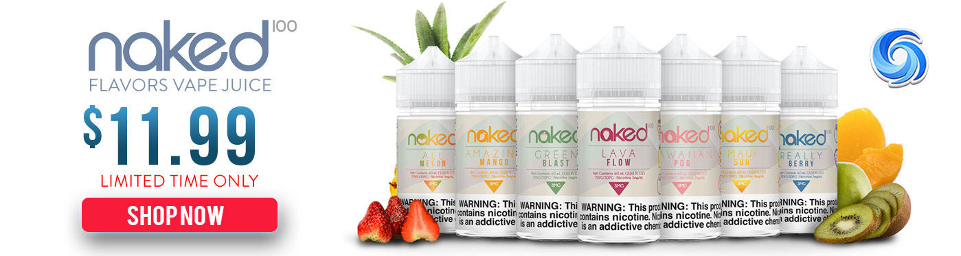 Naked 100 E-Liquid ⋆ Menthol ⋆ Tobacco ⋆ Cream
