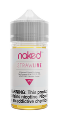 Straw Lime by Naked 100 60ml