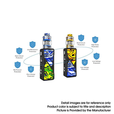 FreeMaX Maxus 100W Safety Features