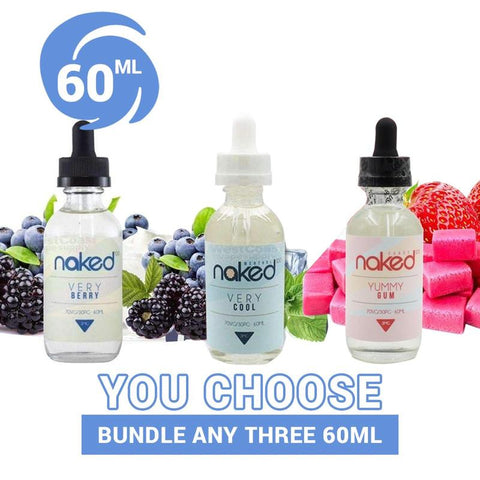 Naked 100 Vape Juice Bundle