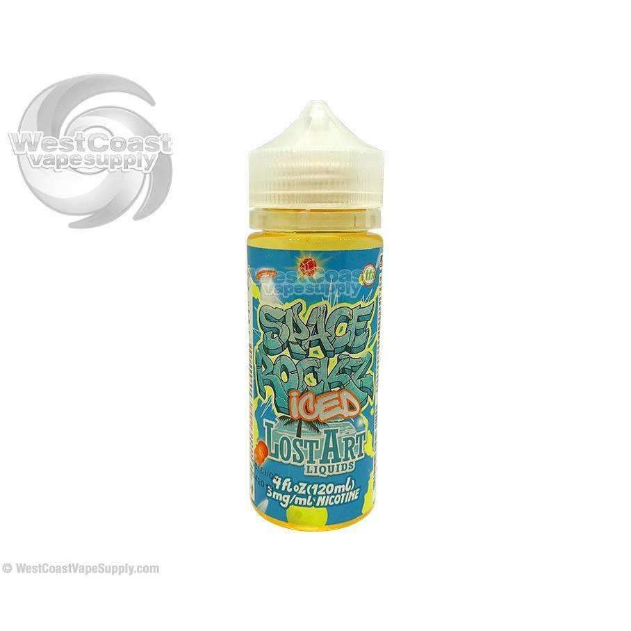Space Rockz Iced Ejuice by Lost Art 120ml
