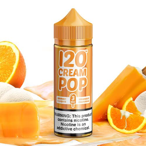 mad hatter 120 cream pop