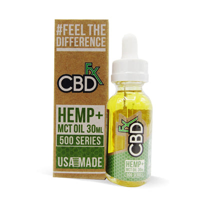 CBD Tincture Oil 500mg by CBDfx 30ml