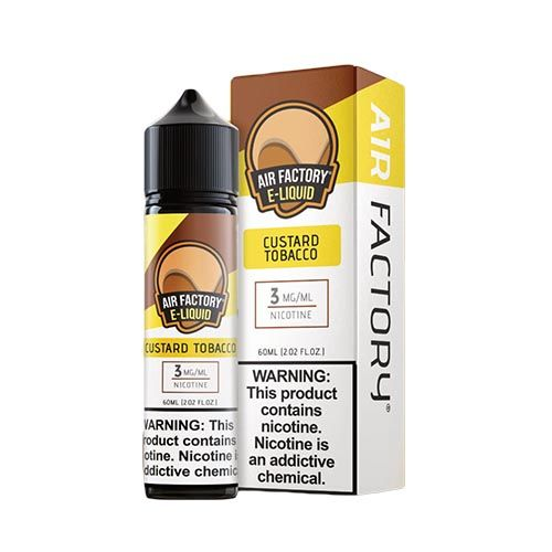 Air Factory Custard Tobacco 60ml