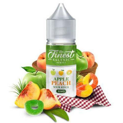 Apple Peach Sour Rings by The Finest SALTNIC 30ml