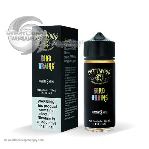 Bird Brains Ejuice by Cuttwood 120ml