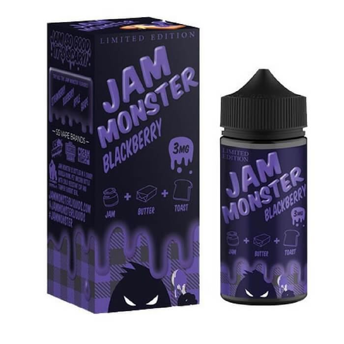 Blackberry (Limited Edition) by Jam Monster Ejuice 100ml