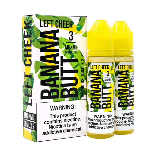 Left Cheek by Banana Butt E-Liquids 120ml