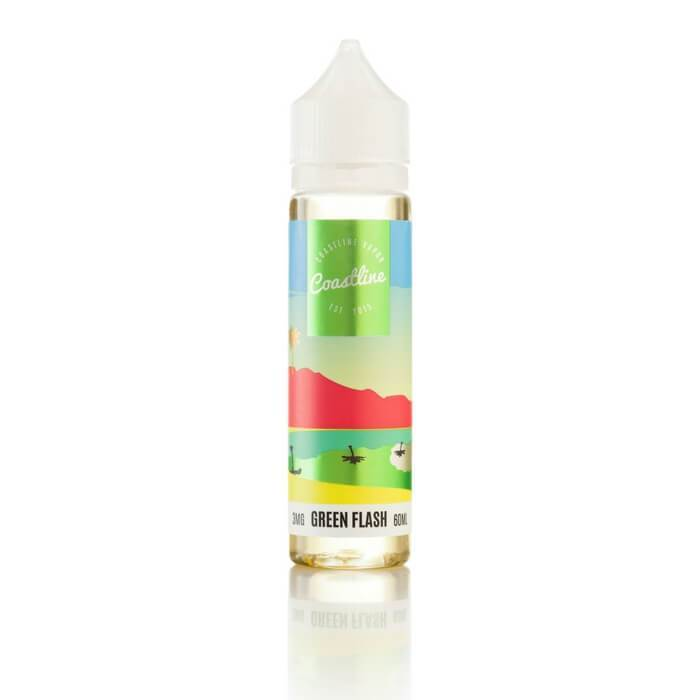 Green Flash Eliquid by Coastline Vapor 60ml Main