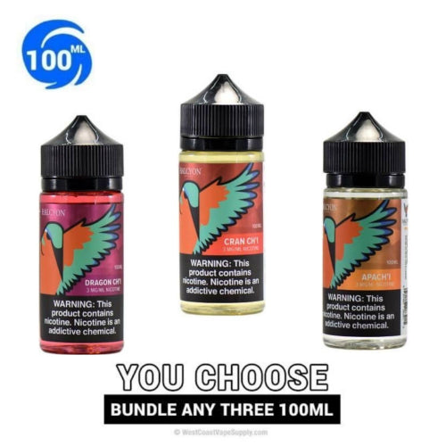Halcyon Vapors Pick 3 Bundle (300ML)