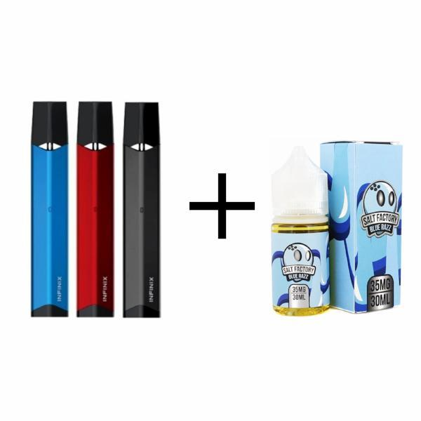 Smok Infinix and Salt Factory Nicotine Salt Bundle Main