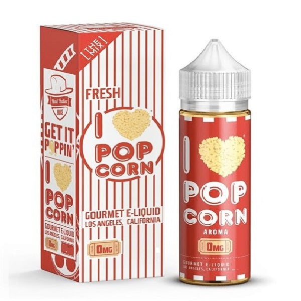 I Love Popcorn by Mad Hatter Juice 100ml