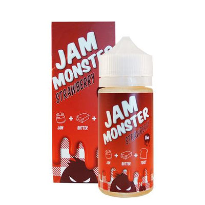 Jam Monster Strawberry Ejuice 100ml