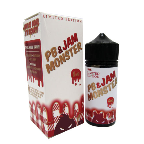 Strawberry PB and Jam by Jam Monster 100ml