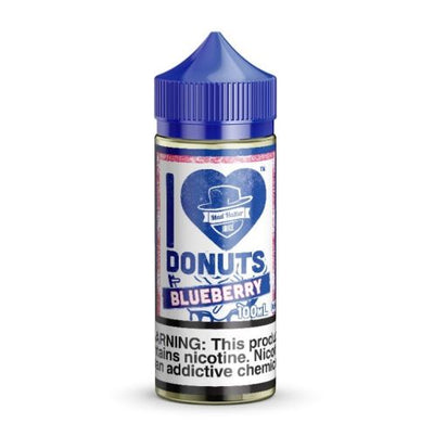 Mad Hatter Juice Blueberry Donuts 100ml