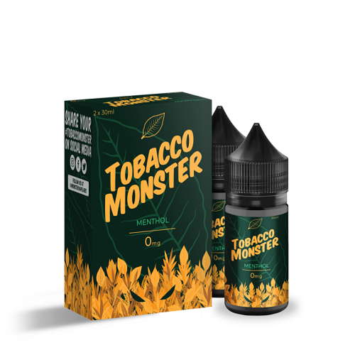 Menthol Salt Double Box by Tobacco Monster 15ml
