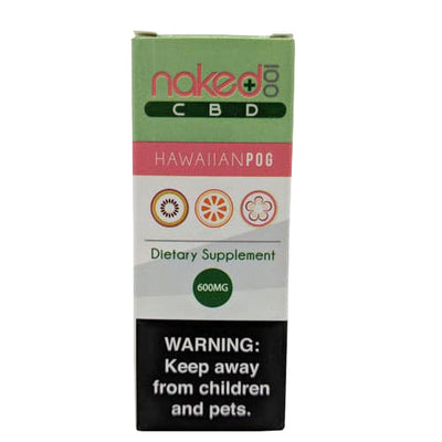 Hawaiian POG CBD by Naked 100 Packaging